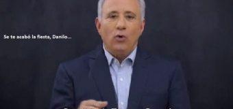 """EMPRESARIO: """"Se te acabó la fiesta, Danilo, no, a la reelección""""…"""