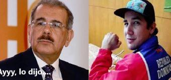 ATLETA SE DESAHOGA con Danilo Medina. Dice de tó…