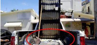 DNCD ocupa 254 paquetes de droga escondidos en cama de una camioneta
