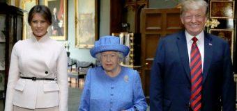 Por qué Donald y Melania Trump no podrán hospedarse en el Palacio de Buckingham durante su visita al Reino Unido