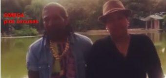 """VIDEO: """"Omega"""" pide perdón a mujer que amenaza con demandarlo"""