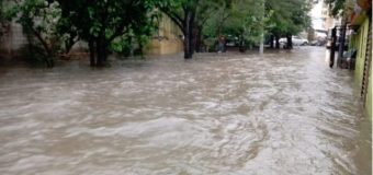 EN SANTIAGO, inundaciones destruyen casas Santiago