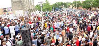 Legisladores y sociedad civil se congregan en San Cristóbal en rechazo a la reforma constitucional
