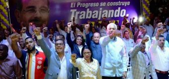 La reelección acelera su paso con cinco actos en el Gran Santo Domingo