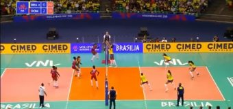 Las Reinas del Caribe vencen a Brasil y están invictas en la Liga de Naciones