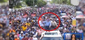 LEONEL MOSTRÓ MÚSCULOS DE FUERZA a Danilo y reeleccionistas, frente al Congreso…