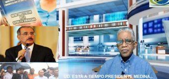 VIDEO: DESISTA DE ESO, PRESIDENTE MEDINA; usted sabe no tiene los votos…