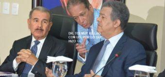 """REINALDO """"muy killao"""" con Leonel por marcha frente al Congreso…"""