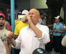 """Domínguez Brito: """"Una fría al año no hace daño""""…"""