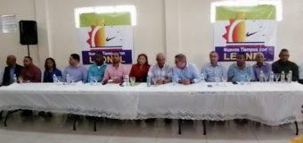 EN NAGUA, dirigentes del PRM en pasan a apoyar a Leonel