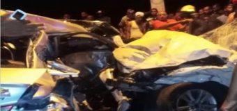 4 personas pierden la vida la noche de ayer domingo en accidentes de tránsito en la Autopista Duarte