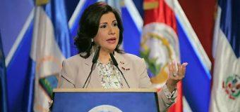 """""""La gente ahora come más y mejor"""" dice vicepresidenta Margarita Cedeño"""