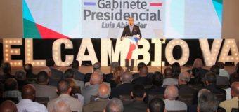 LUIS ABINADER presenta su Programa de Gobierno…