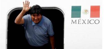 LO ÚLTIMO: Evo Morales llega a México; dice AMLO le salvó la vida…