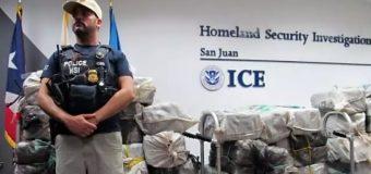 Incautan 163 kilos de cocaína de embarcación en Puerto Rico; tres dominicanos entre los apresados