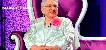 María Cristina Camilo cumple hoy 101 años