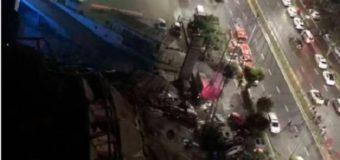 Se derrumba hotel en China usado para enfermos de coronavirus; 70 atrapados