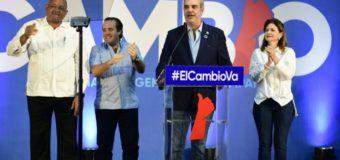"""Luis Abinader: """"La victoria fue contundente en las elecciones"""""""
