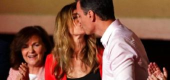 Esposa de presidente español da positivo para COVID-19