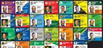 Esta será la boleta para las elecciones del 17 de mayo, según JCE…