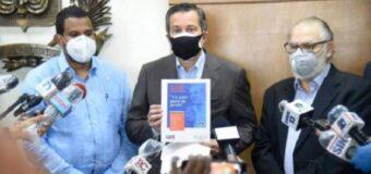 PRM presenta programa de gobierno de su candidato presidencial Luis Abinader