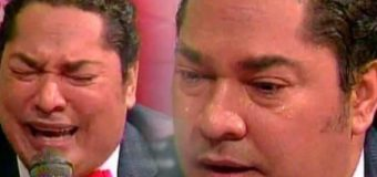 """VIDEO: """"Mi dignidad y mi nombre no voy a permitir que me lo manchen"""", dice entre llanto El Pachá sobre escándalo acoso sexual"""
